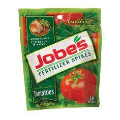 Jobe's 18 Count Tomato Fertilizer Spikes * Easy to use #hometools #homeequipment #homedepot #houseneeds