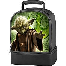 Star Wars Yoda Boy's Dual Lunch Kit - Black