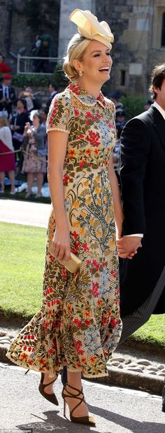 Sofia Wellesley, James Blunt's wife, is in new season Valentino. Far too wholesome
