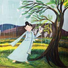 雨が好きです。じめじめするけど。雨のない世界をそうぞうすると辛い世界だろうな。