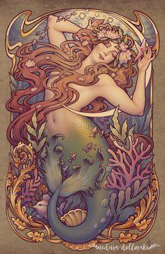 Andersen's Little Mermaid by Medusa-Dollmaker