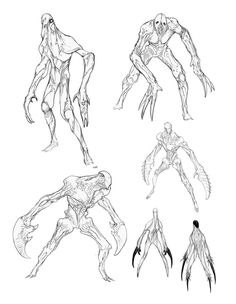 The concept art of xcom 2 character concept art фэнтези, рпг Monster Concept Art, Alien Concept Art, Creature Concept Art, Game Concept Art, Monster Art, Creature Design, Monster Drawing, Desenhos Harry Potter, Alien Design