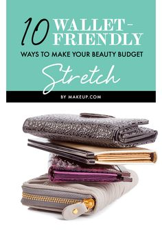 While makeup is not always our favorite thing to cut back on, we can't exactly go on a beauty spending spree every single week. Instead of giving up new products, we've come up with some EASY ways to stretch your beauty dollars.