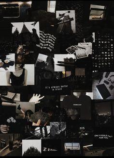 Glitch Wallpaper, Black Wallpaper Iphone, Mood Wallpaper, Homescreen Wallpaper, Dark Wallpaper, Tumblr Wallpaper, Wallpaper Backgrounds, Black Aesthetic Wallpaper, Aesthetic Backgrounds