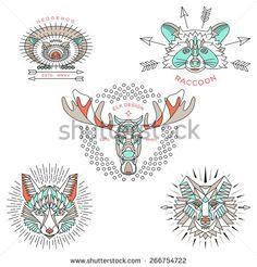 Wolf Logo Photos et images de stock | Shutterstock