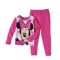 online shopping for AME Minnie Mouse Baby Toddler Girl Cotton Tight Fit Pajama, Set from top store. See new offer for AME Minnie Mouse Baby Toddler Girl Cotton Tight Fit Pajama, Set Girls Sleepwear, Sleepwear Sets, Girls Pajamas, Best Pajamas, Disney Pajamas, Baby Mouse, Minnie Mouse, Pink Minnie, Pajama Bottoms