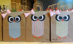 Stamping to Share: 10/9/13 Owl Bags with How To Video great idea for a trick or treat bag!