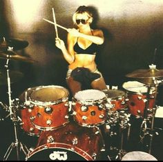 Girl drummers nuff said