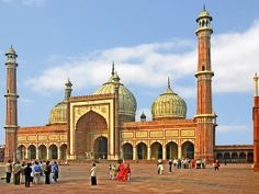 India-0225 - Jamia Masjid by archer10 (Dennis), via Flickr    Dehli, India