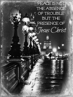 peace from Jesus~