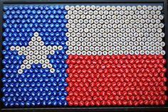 Bottle Caps: Budweiser, Bud Light, and Miller Light. Handmade painted or stained frame. Beer Cap Table, Bottle Cap Table, Beer Bottle Caps, Bottle Cap Art, Beer Caps, Diy Bottle Cap Crafts, Beer Cap Crafts, Custom Bottle Caps, Texas Logo