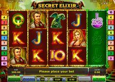 """Koche das Secret Elixir und werde ein Gewinner! Teste doch Novomatic Spielautomat """"Secret Elixir"""" - ein origineller und attraktiver Slot!"""