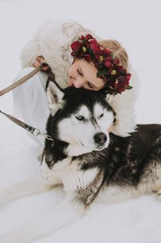 Wedding Styles, Husky, Dogs, Animals, Getting Married, Ideas, Animales, Animaux, Pet Dogs