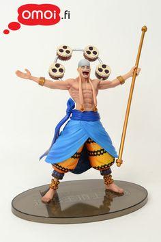 One Piece: SCultures God Enel figuuri - 26,00EUR : Omoi.fi, anime, manga ja cult oheistuotteiden verkkokauppa