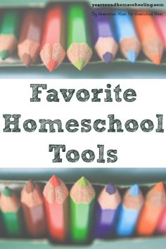 The Year Round Homeschooling team shares their favorite #homeschool tools and the Hearts for Home Blog Hop team hosts their first #giveaway!