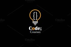 Code Courses logo by Just Shop on @creativemarket