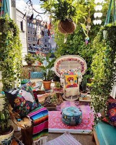 Si quieres celebrar una fiesta hippie esta idea te servirá de inspiración. #party #hippie