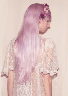 Lilac hair... someday....