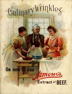 Category: Nicole Di Bona Peterson Collection of Advertising Cookbooks / Emergence of Advertising in America: / Duke Digital Repository Vintage Menu, Vintage Labels, Vintage Books, Vintage Ads, Vintage Posters, Retro Recipes, Vintage Recipes, Old Advertisements, Advertising