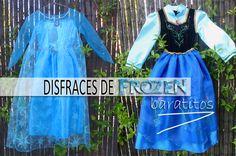 Disfraces de Frozen baratitos