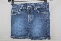 Arizona Jeans Denim Skirt Girls Size 6Y #AriZona