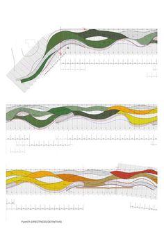 Benidorm is perhaps the singlemost paradigmatic Spanish city of the massive industry of leisure and tourism,. Landscape Model, Landscape Sketch, Landscape Concept, Landscape Architecture Design, Landscape Plans, Space Architecture, Beach Landscape, Urban Landscape, Contemporary Architecture