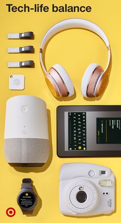 Your college student needs technology to get by and to stay connected with you. Laptops, cell phones, music players, head phones, USB drives for storage, cameras & more are must-haves for tech-life balance. There's going to be a lot of multi-tasking at college so a Google Home can help them stay organized.