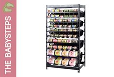 Our favorite food storage shelves.  These rotating racks come in all shapes and sizes to meet all your needs for storage and rotation.  LOVE!  (Visit http://jodiandjulie.thrivelife.com/food-rotation-systems to see all sizes)
