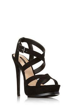 Strappy Platform Sandals   FOREVER21 - 2000124683