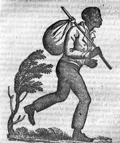 Reproduction of a picture depicting a fugitive slave that is typical of the images that appeared on handbills of southern slave owners searching for escaped slaves. It appeared in the New York paper, The Anti-Slavery Record, in July 1837. The paper was published by the American Anti-Slavery Society. The image was collected by Ohio State University professor Wilbur H. Siebert (1866-1961). Siebert began researching the Underground Railroad in the 1890s as a way to interest his students in…