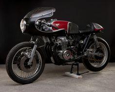 Diario Motocicleta: Sexy '76 Honda CB550 by Paul Ages