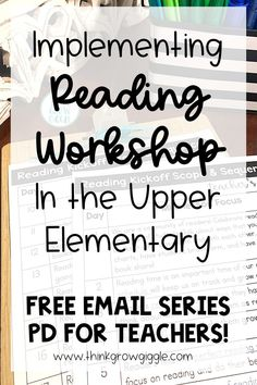 Don't let planning and organization of reading workshop launching stress you out! Grab all my free tips, tricks and freebies to help you succeed with reader's workshop in your upper elementary classroom with this free professional development email series. Work at your own pace in this email training that has free tips, tricks, insider ideas, free resources, including anchor charts! Click to sign up and be on your way to learning what you need to know to get started this school year! Teacher Freebies, Reading Comprehension Strategies, Independent Reading, Readers Workshop, Reading Lessons, Upper Elementary, Professional Development, Classroom Management, Free Tips