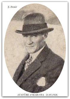 Atatürk Ankara'da. 21.05.1928