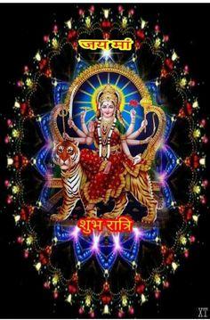 Maa Durga Image, Durga Maa, Durga Goddess, Durga Images, Krishna Images, Good Night Image, Good Morning Good Night, Maa Durga Hd Wallpaper, Navratri Wallpaper