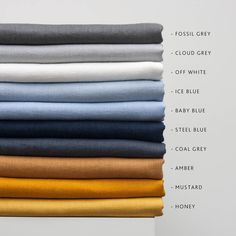 Samples of Linen fabric,Samples of Softened linen fabric by yard,Natural Linen Fabric Sampling,Stonewashed Linen Swatches,Pure Linen Samples Linen Couch, Linen Pillows, Linen Bedding, Linen Fabric, Bedding Sets, Linen Curtain, Girl Bedding, Buy Fabric, Bed Linens
