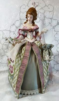 Maria Teresa Pincushion Doll from Giulia Punti Antichi ~ Available soon!