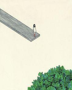 "Rose Wong's Poignant Illustrative Series,""Consider Death"""