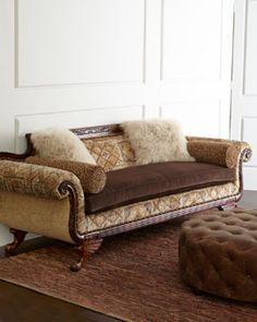 Old Hickory Tannery Jenevieve Sofa