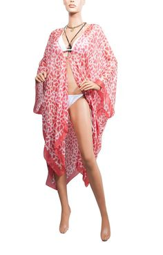 like this one too Swim Cover, Cover Up, Maxi Kaftan, One Size Fits All, Fossil, Kimono Top, Xmas, Red, Dresses