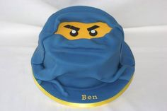 For Ben to celebrate his birthday this Ninjago cake. I hope he liked it! - http://ift.tt/1Q9cLnn