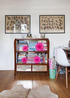 Casinha colorida: Chez Caroline Rowland