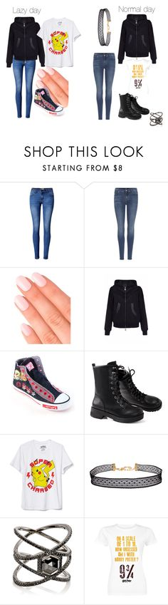 """Untitled #219"" by sky-wheaton ❤ liked on Polyvore featuring WithChic, 7 For All Mankind, Elegant Touch, Pritch London, Ed Hardy, New World Sales, Humble Chic and Eva Fehren"
