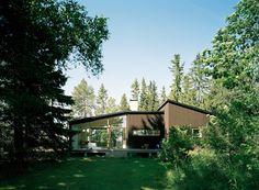 Anna von Schewen - Summerhouse, Spillersboda 1998. Photos © Åke E:son Lindman.