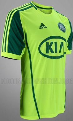 Palmeiras adidas 2012 Fourth Kit 40e788cd8eb42