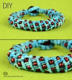 Newsletter: Sova-Enterprises.com - FREE 3D Wavy Spiral Bracelet with Beads Tutorial