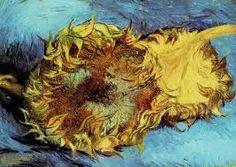 """""""Due girasoli recisi"""", Vincent van Gogh, 1887; olio su tela, 43x61 cm; l'opera è conservata presso il Metropolitan Museum of Art, New York City."""