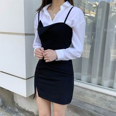 Renee OPS February 16 2020 at fashion-inspo Korean Girl Fashion, Korean Fashion Trends, Ulzzang Fashion, Korean Street Fashion, Cute Fashion, Look Fashion, Fashion Women, Fashion Ideas, Fashion Tips