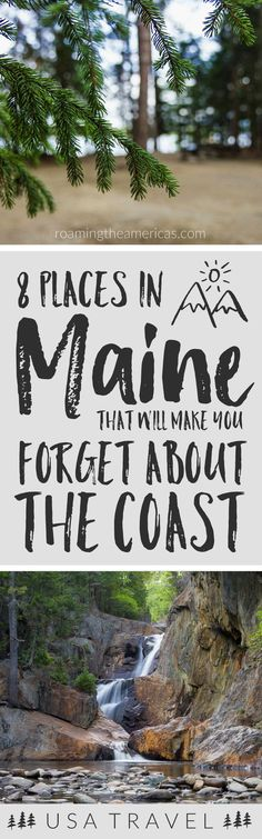 Looking for the best things to do in Maine? If you're craving a quiet, off-the-beaten-path adventure, check out this local's guide for 8 of the best spots in central and western Maine! New England travel road trips | Maine travel destinations | Maine vacation summer | places to visit in Maine for nature lovers | nature and outdoor adventure United States | New England vacation in the mountains  #maine #mainelife #mainevacation #newengland #bucketlist #roadtrip via @roamtheamericas