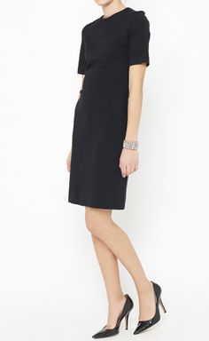Diane von Furstenberg Black Dress | VAUNTE