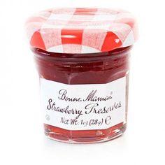 Bonne Maman Strawberry Preserve Mini Jars  1 oz x 15 pcs Kosher >>> You can get additional details at the image link.